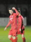 Pictures by JASON HEDGES     09/11/19 - Brora Rangers v Buckie Thistle 7-0 Breedon Highland League 09-Nov-19  Picture:Brora 18 - Steven MacKay celebrates after scoring the final goal of the match Pictures by JASON HEDGES