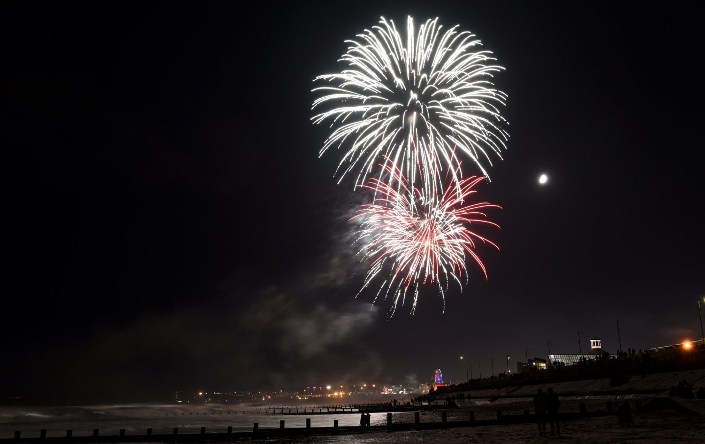 This year's fireworks display has been cancelled