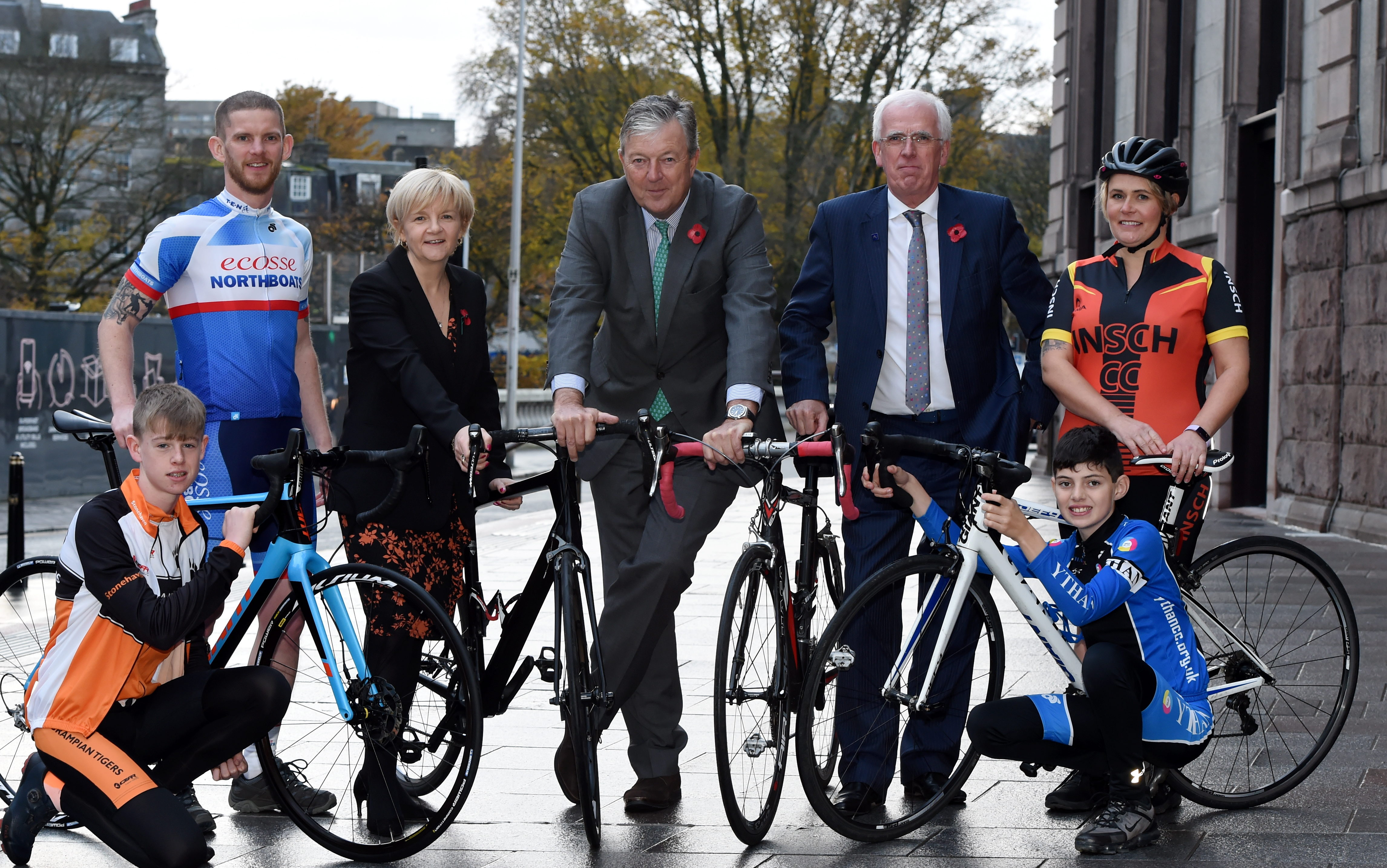 The Tour of Britain launch in Aberdeen earlier this year. Picture by Kenny Elrick.
