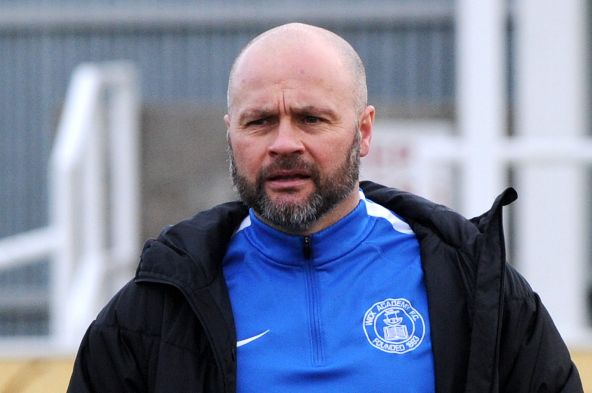 Wick Academy manager Tom McKenna.  Picture by KENNY ELRICK