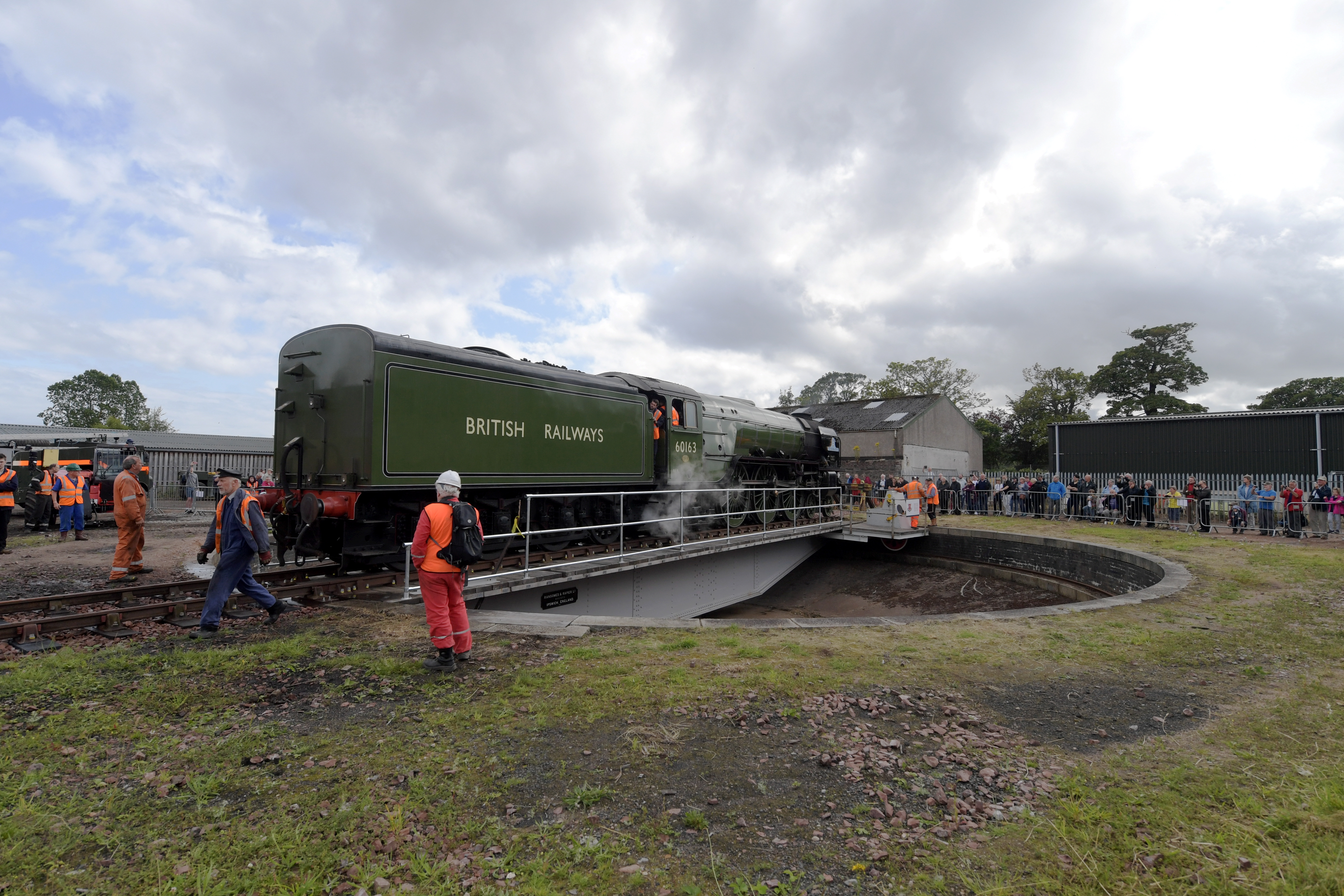 The Ferryhill Railway Turntable. Picture by Kath Flannery