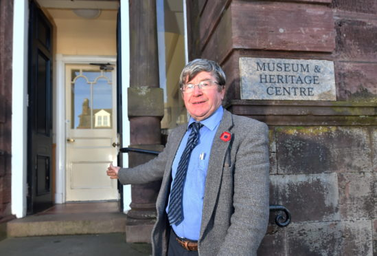 Councillor Iain Taylor in the Municipal Building. Picture by Scott Baxter