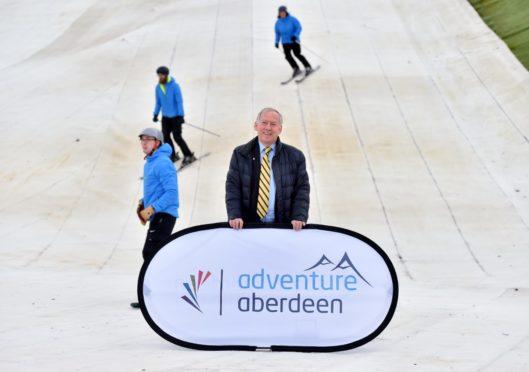 Tony Dawson, Chairman, SPORT ABERDEEN    Picture by Scott Baxter