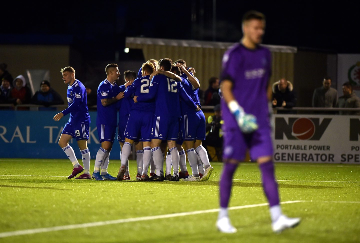 Cove Rangers will play in League One this season