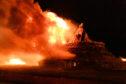 Gadle Braes bonfire
