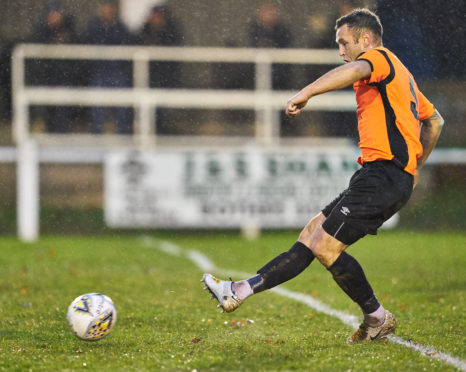 Gregg Main joined Rothes from Nairn last year.