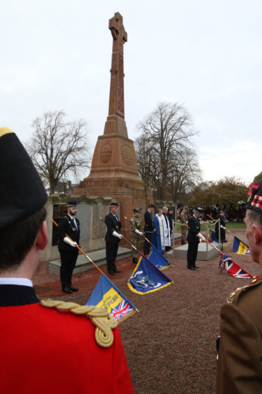 Remembrance Sunday in Inverness