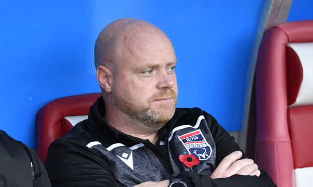 Ross County co-manager Steven Ferguson.