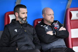 Ferguson steps down from co-manager role to leave Kettlewell in charge of Staggies