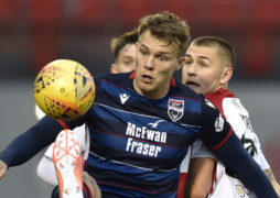 Striker Erwin departs Staggies ahead of proposed St Mirren switch