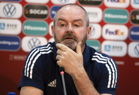Scotland head coach Steve Clarke.