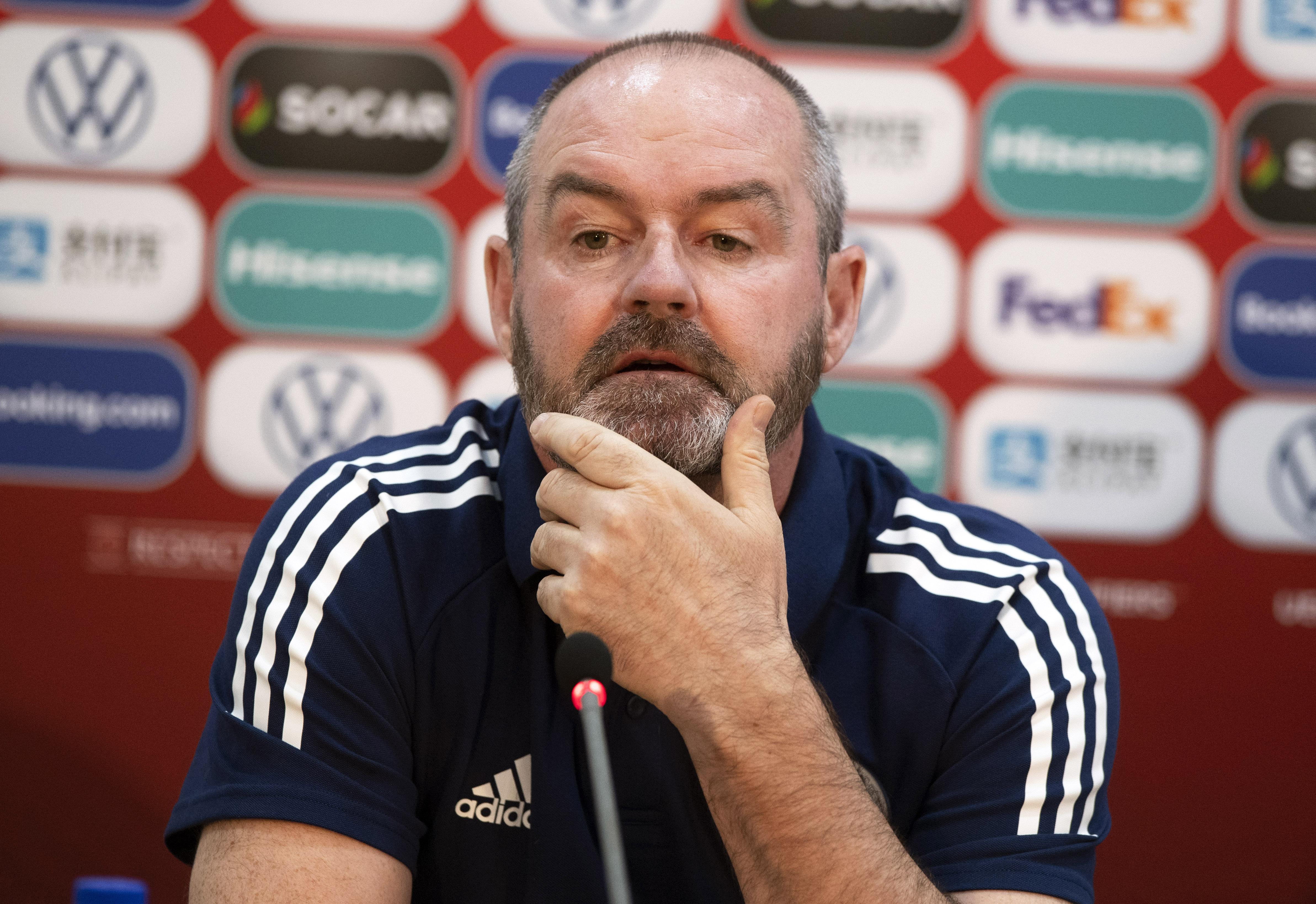 Scotland head coach Steve Clarke.