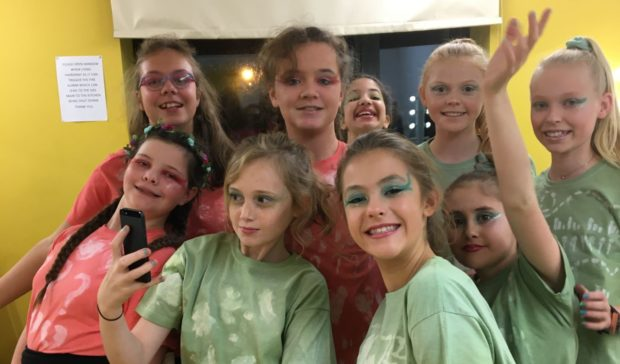 P7 pupils at St Sylvester's Primary School in Elgin took charge of the A Midsummer Night's Dream production.