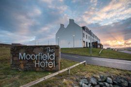 The Moorfield Hotel in Shetland.