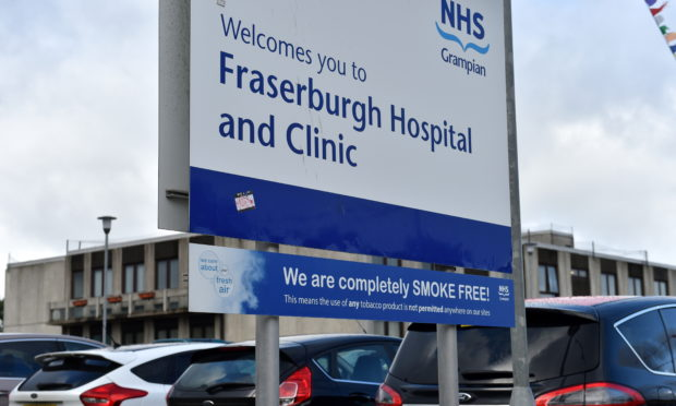 Mrs Onoh had been volunteering at Fraserburgh Hospital
