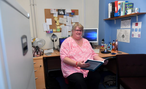 Morven Campbell, Aberdeenshire Council Adoption Team Manager. Picture by Chris Sumner