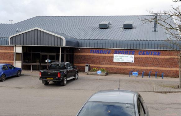 Turriff Sports Centre.