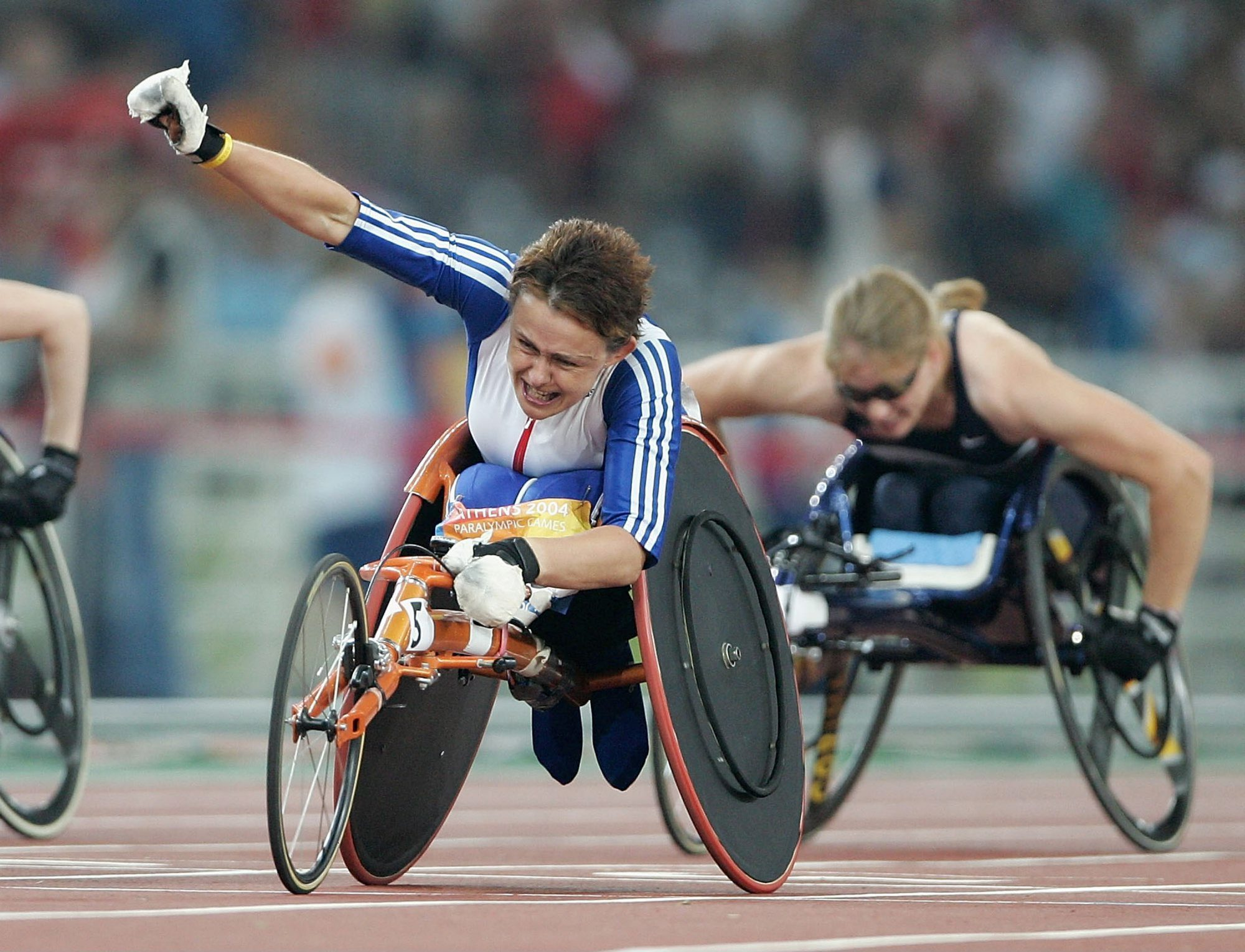 Multiple-time Paralympic champion Tanni Grey-Thompson.