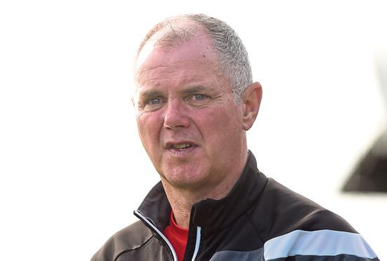 Nairn County manager Ronnie Sharp.