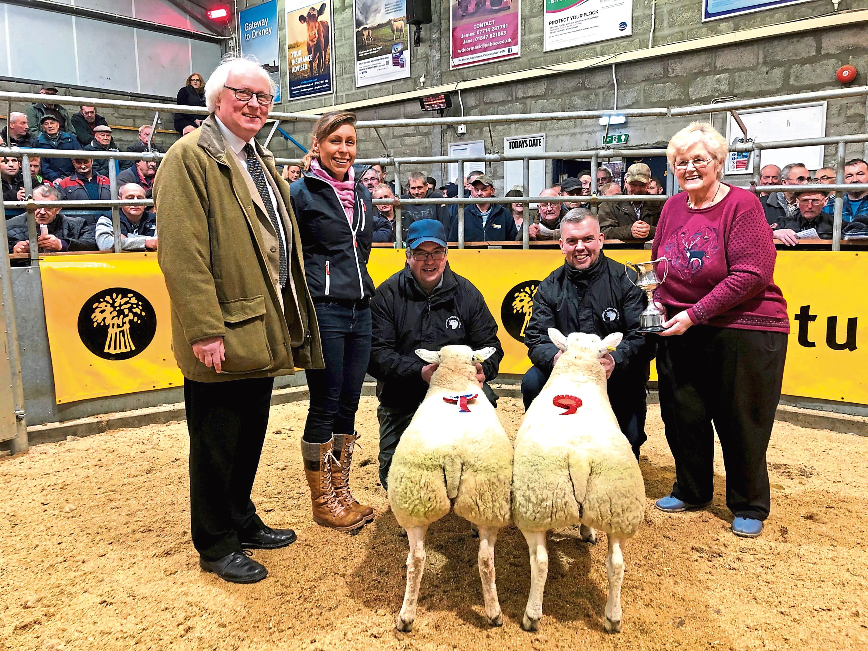 From left - Murray Lamont, Jennifer Lamont, Stephen Sutherland, Kenneth Sutherland, and sponsor Nona Mackay.