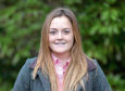 Shetland young farmer Aimee Budge who hosts the Shetland Monitor Farm project with her sister Kirsty.