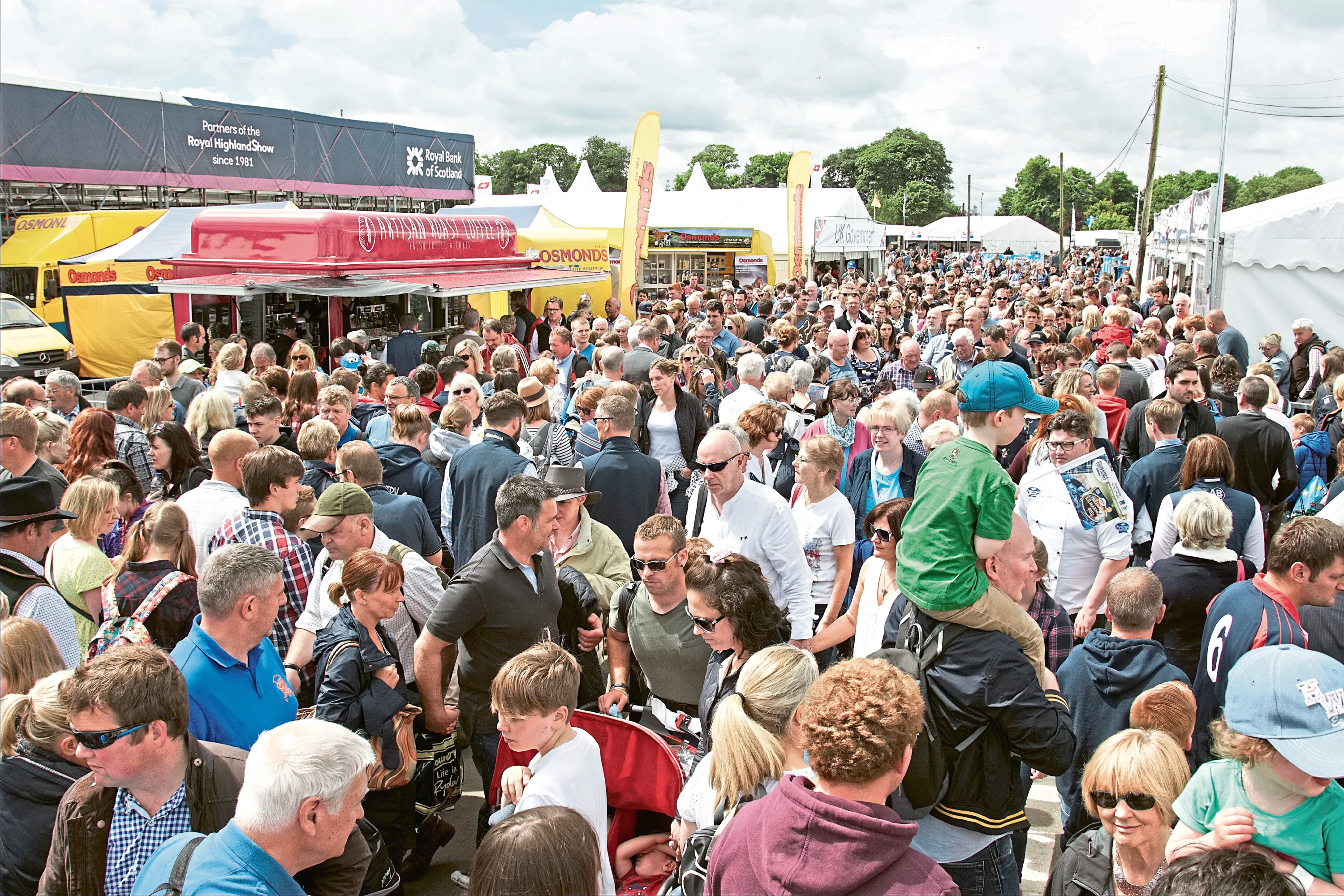 Saturday entry to the show could be restricted in future.