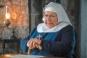 Miriam Margolyes as Mother Mildred in the Christmas special of Call The Midwife