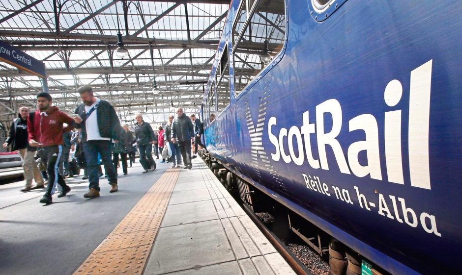 ScotRail and the Caledonian Sleeper are receiving £250 million.