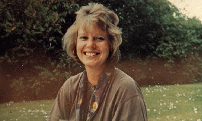 Dunblane teacher Gwen Mayor