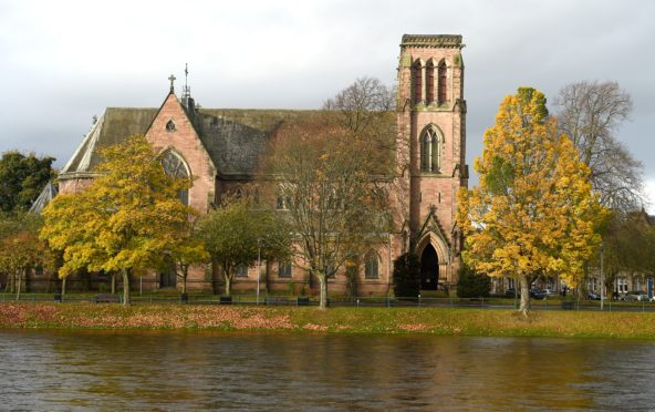 Inverness Cathedral. Picture by Sandy McCook