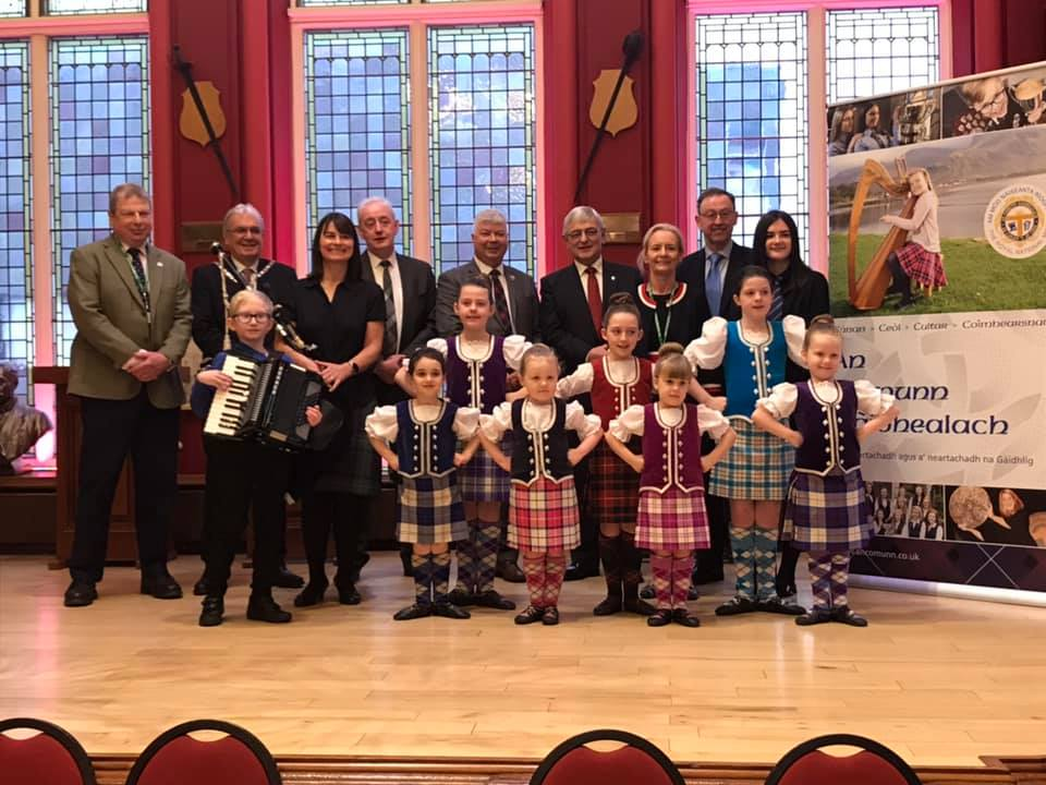 A civic reception was held at Inverness Town House in December to welcome the return of the Royal National Mòd. Picture taken by James Graham.