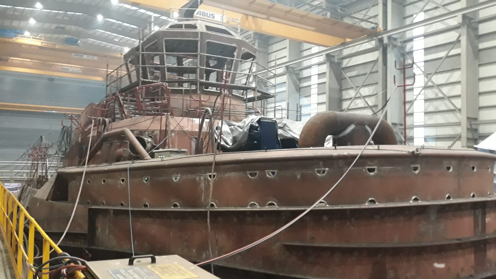 Odin of Scapa and Thor of Scapa are currently under construction in Turkey ahead of their introduction next year