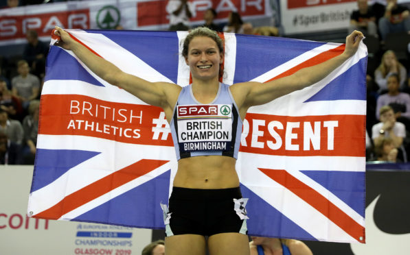 Zoey Clark will be able to return to track training.