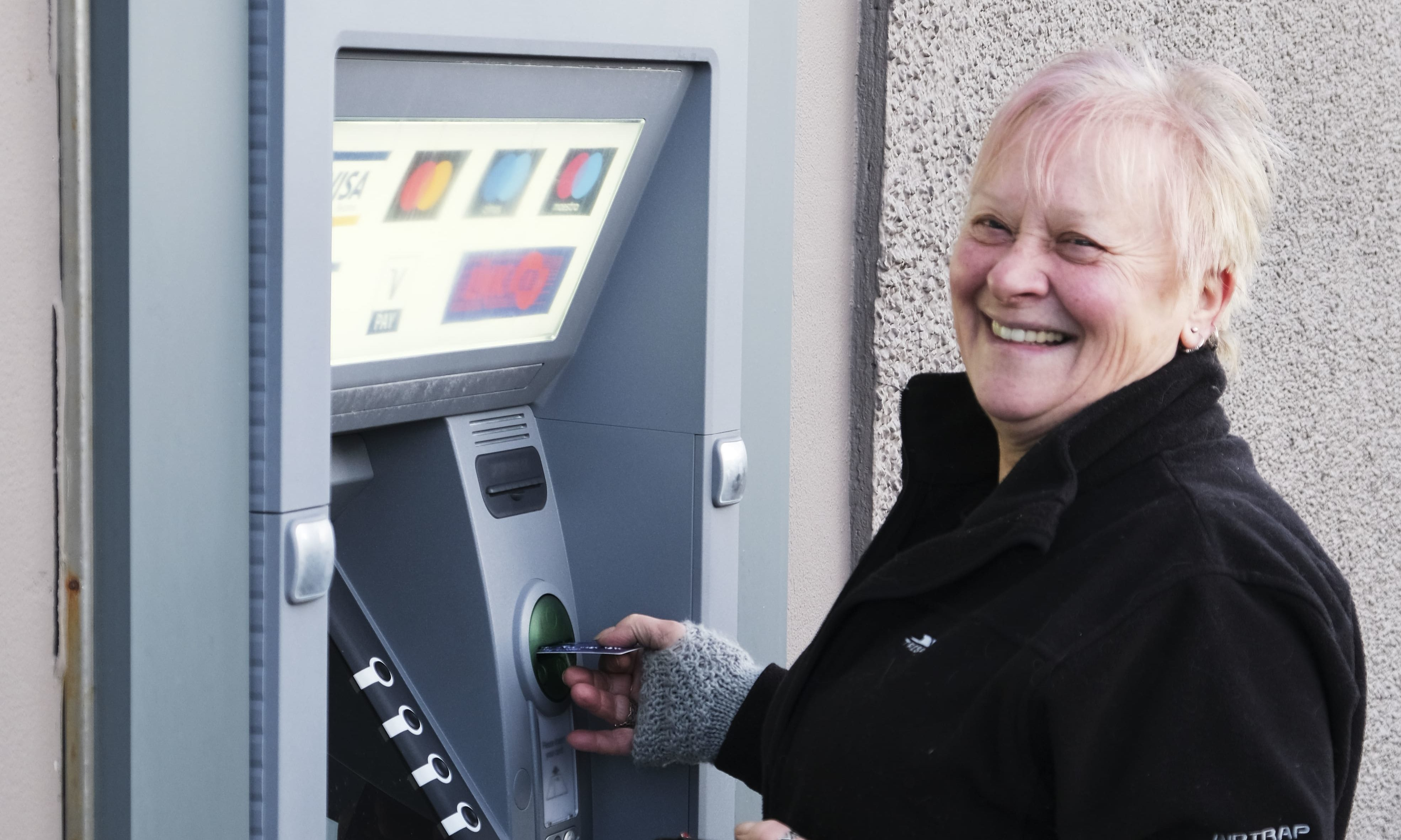 Local residents have been delighted to see the re-introduction of a dedicated 24-hour cash service in Durness