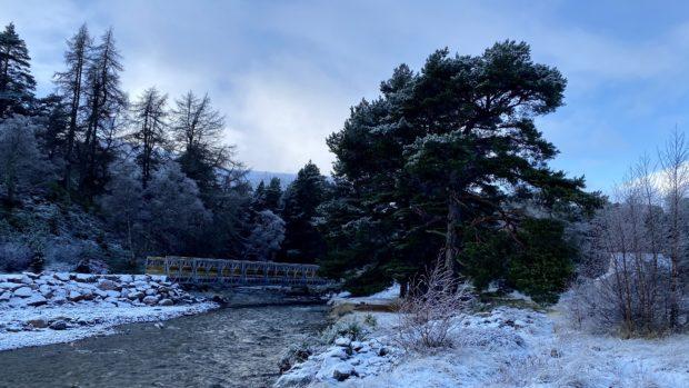 The Allanaquoich Bridge at Linn of Quoich