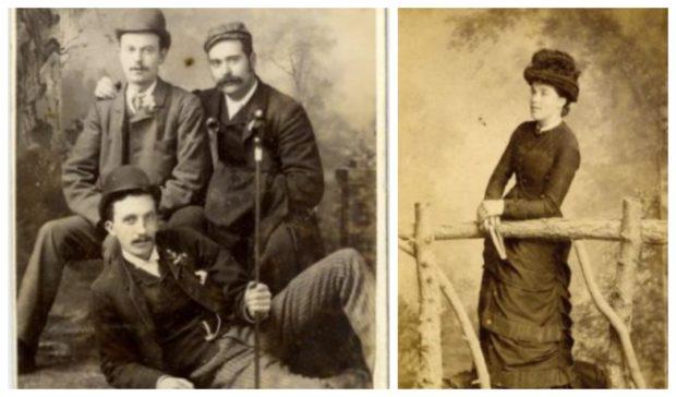 Victorian 'selfie'