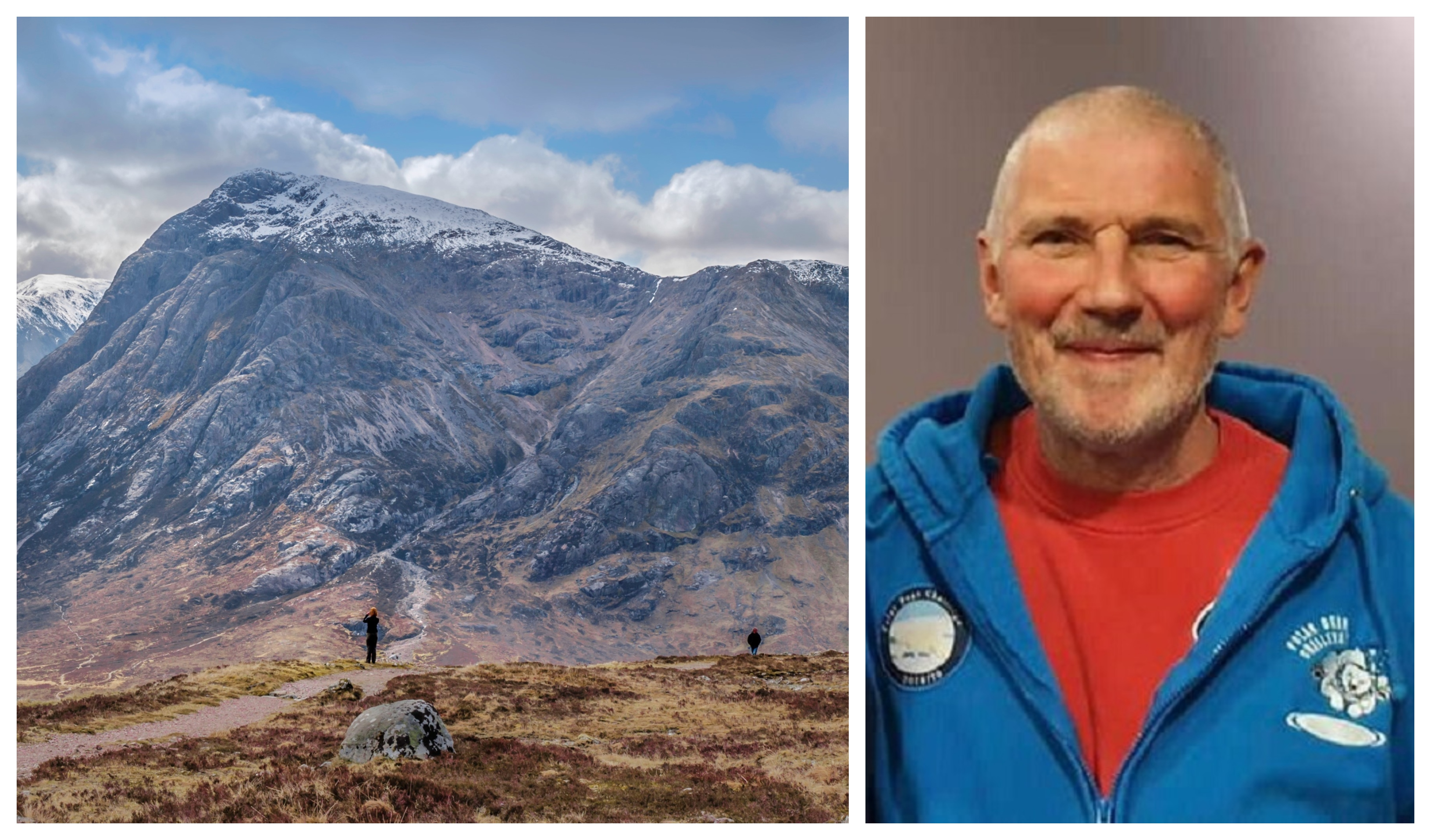 Terence Rooney died on the Glencoe mountain range.