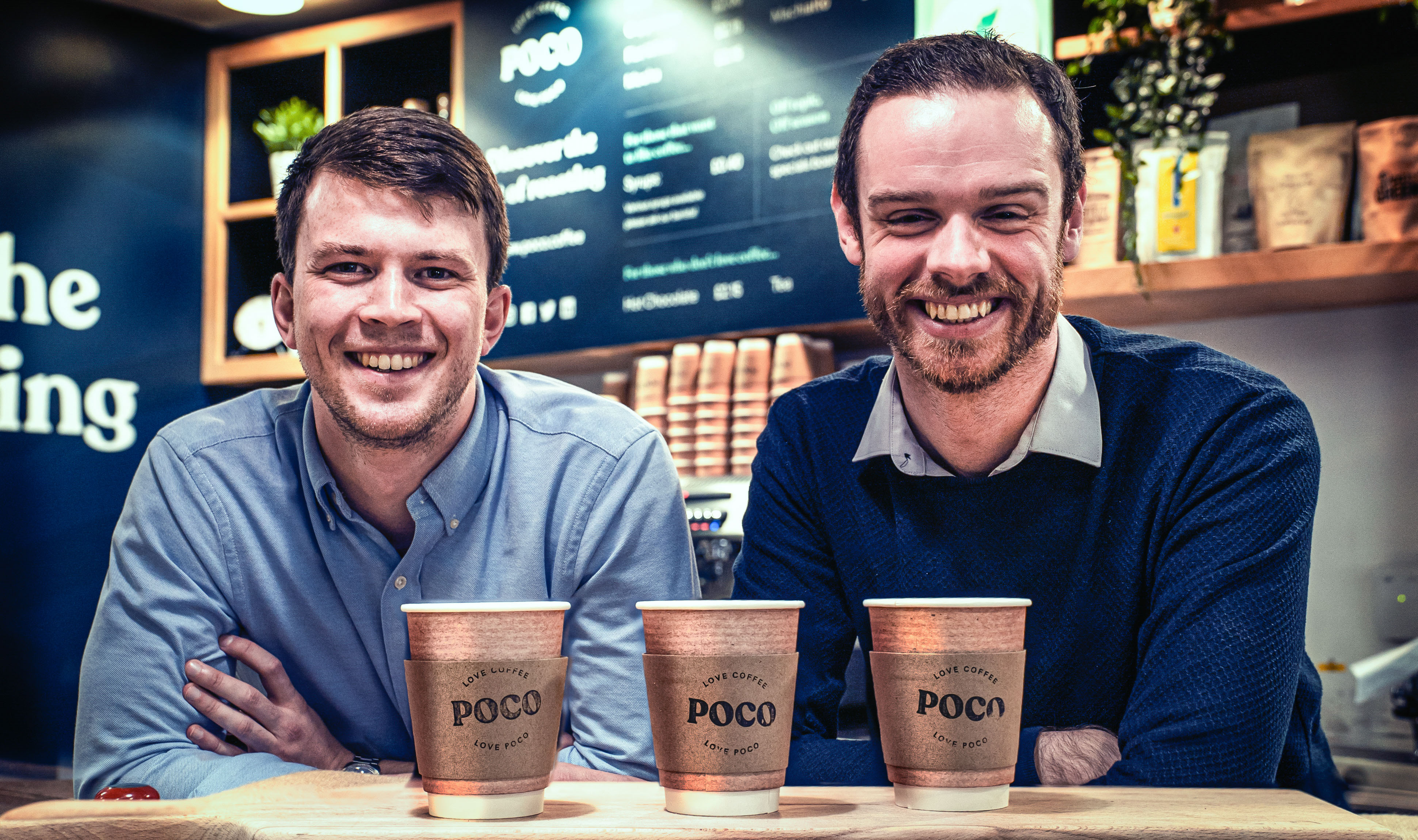 David Porteous and Ross Mclean of Poco Roast