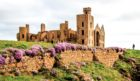 Slains Castle. Photo by Mike Sheperd