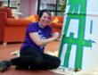 Aberdeen artist Katie Guthrie. Picture by Chris Sumner.