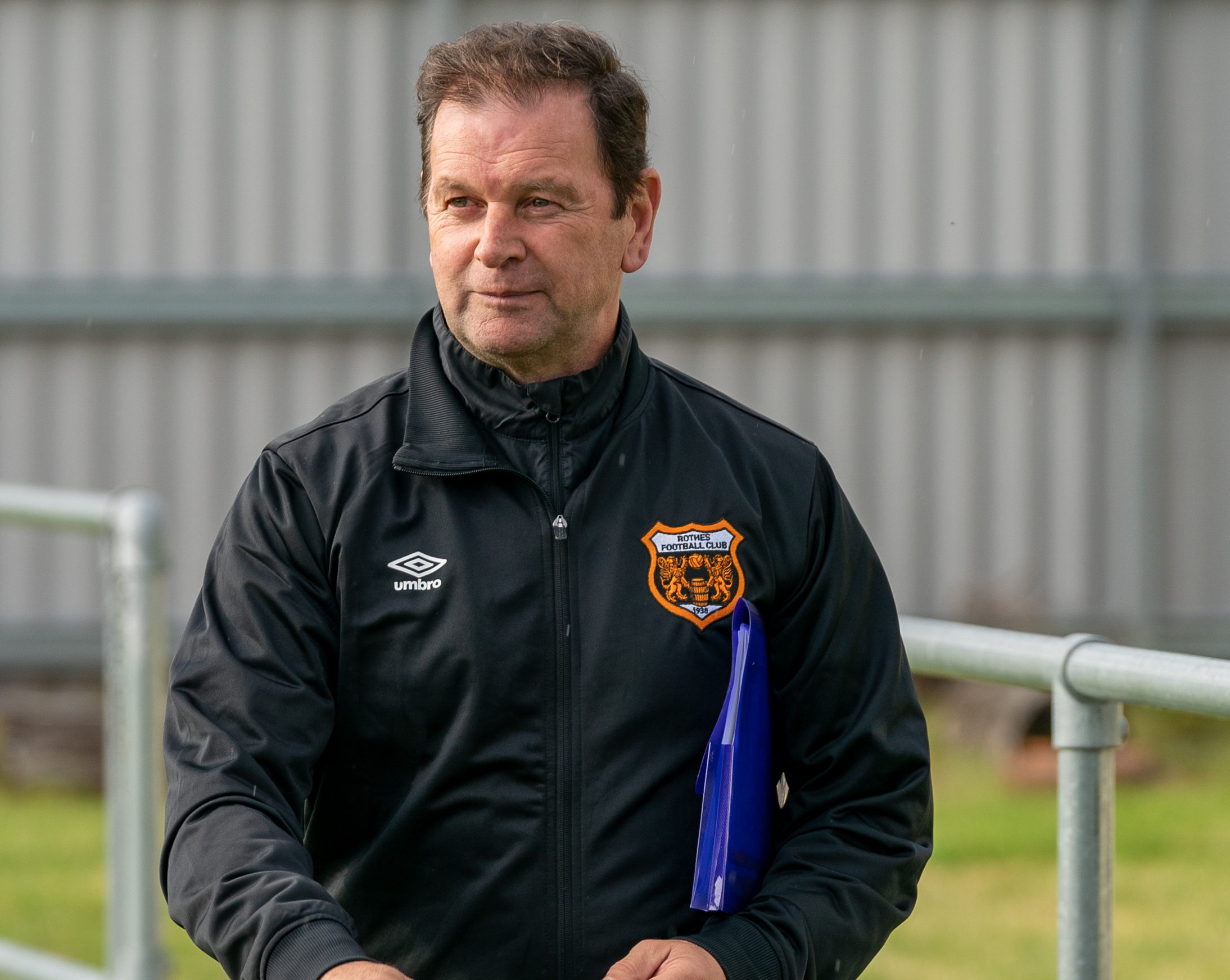 Ross Jack took over at Rothes last year.