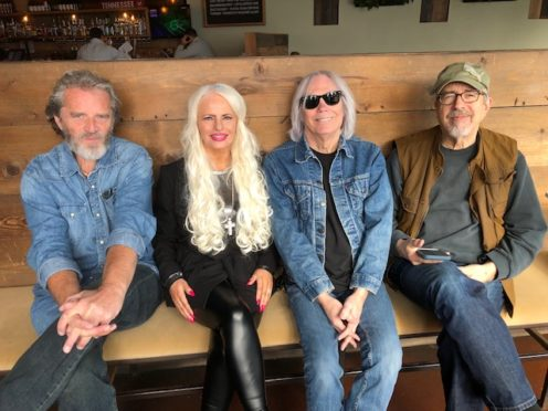 Arlene recorded an album in Nashville.