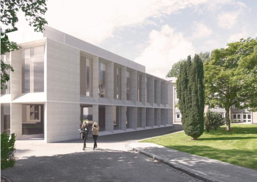 An initial design concept for the redevelopment of Johnston Halls