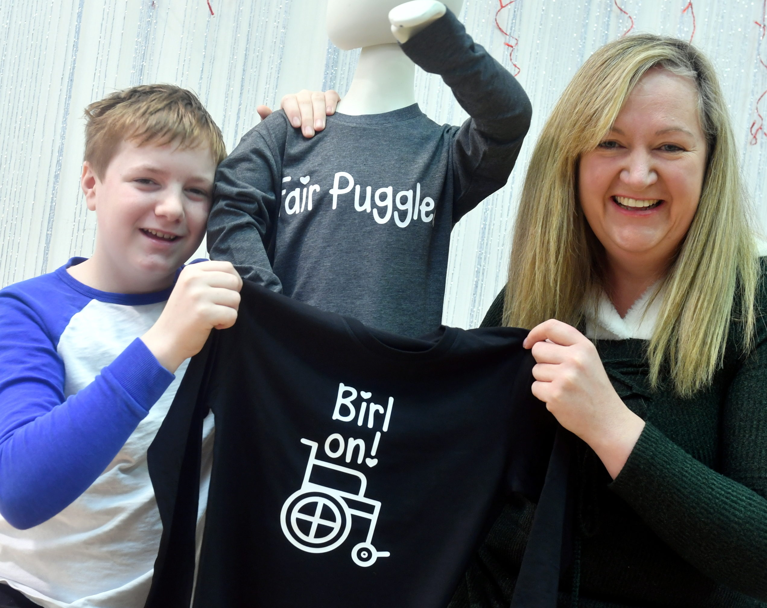 Mum (and charity founder) Phionna McInnes with her son Declan. Picture by Chris Sumner