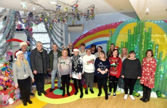 Members of Aberdeen Foyer