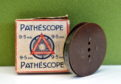 Pictured is Mr Finnie's Pathescope 9mm film.  Picture by DARRELL BENNS