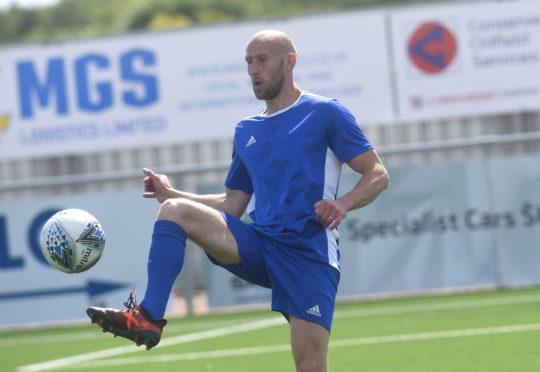 Former Cove Rangers defender Alan Redford