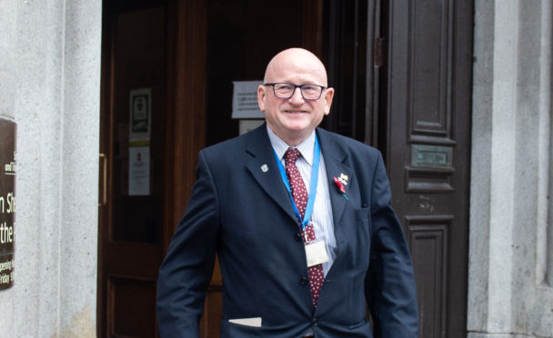 Former deputy lord provost Alan Donnelly.
