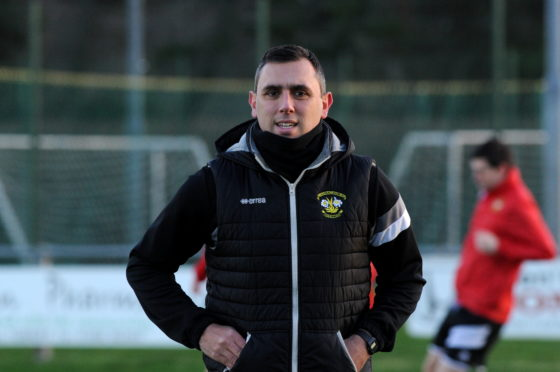 Former Clach manager Brian Macleod.