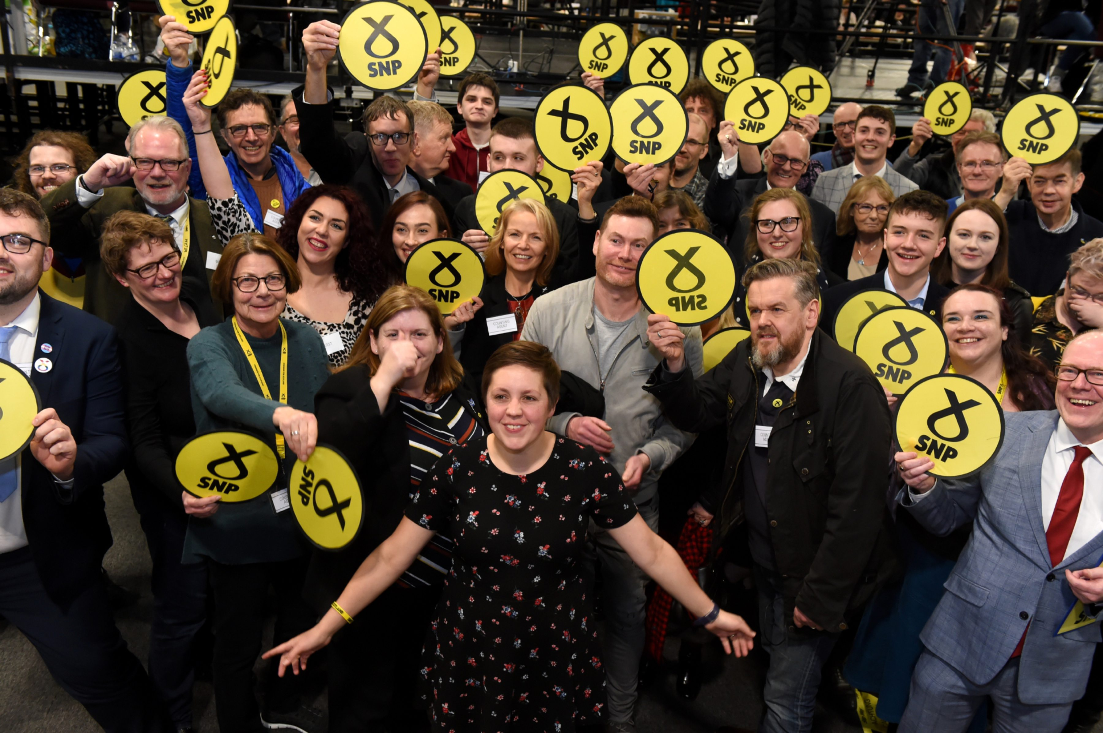 Kirsty Blackman, Scottish National Party  Picture by KENNY ELRICK